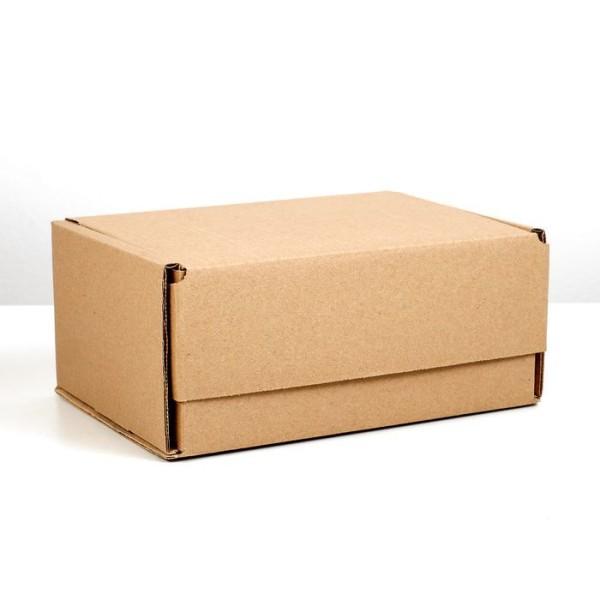 11 Pièces, papier, avec, emballage, Kraft, pour, carton, auto-assemblé, boîte, 22x16. 5x10 cm, boîte - Photo n°1