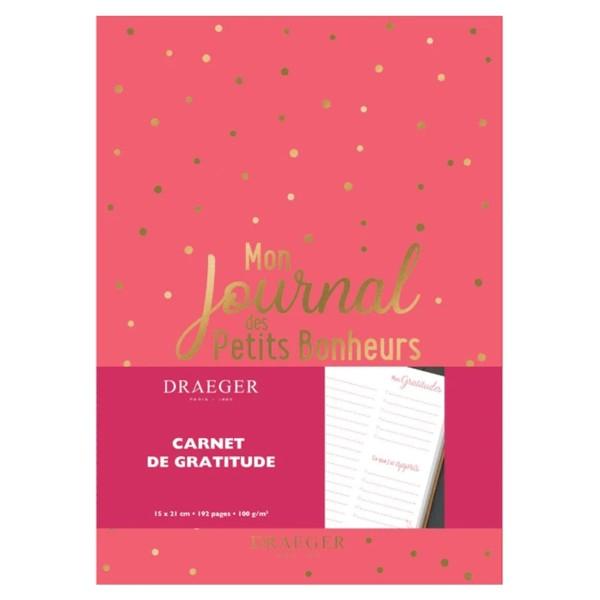 Mon journal des petits bonheurs - Corail - 14,5 x 20,5 cm - 192 pages - Photo n°1