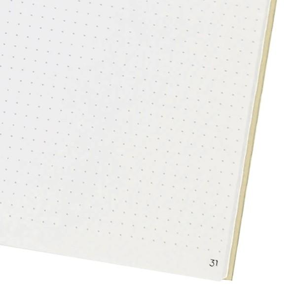 Carnet de notes - Blanc - 15 x 21 cm - 192 pages - Photo n°2