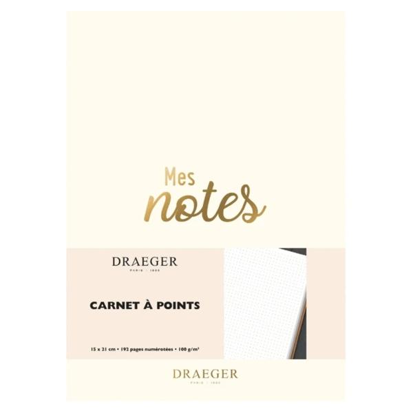 Carnet de notes - Blanc - 15 x 21 cm - 192 pages - Photo n°1