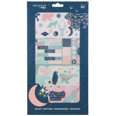 Kit Scrapbooking Stickers et Die cuts - Constellation
