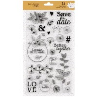 Tampons Transparents - Once Upon a time - 31 pcs