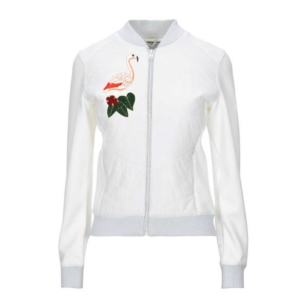 2 Ecussons flamants roses, patchs brodés pour customisation - Photo n°2