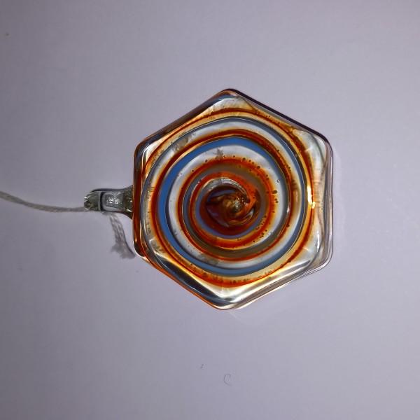 Pendentif en verre de Murano, 4 cm - Photo n°1