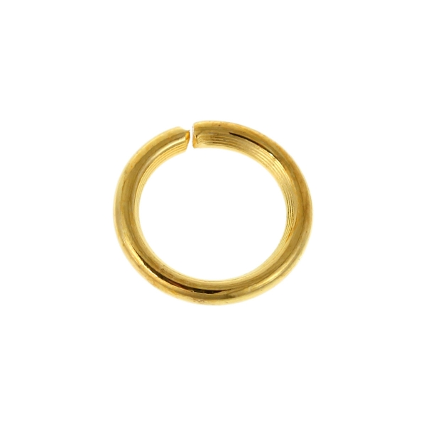 100 Anneaux de Jonction Ouvert Doré 5mm Creation bijoux, bracelet, collier - Photo n°2