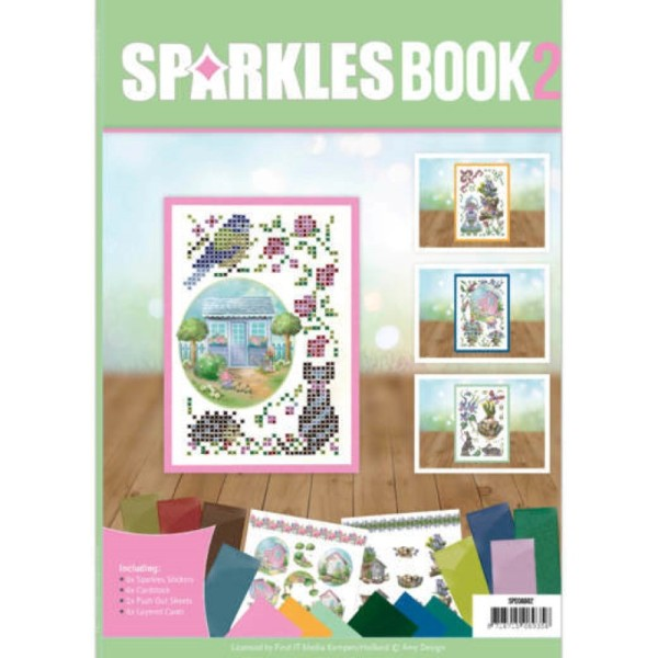 Livre Sparkles A6 N°2 - Printemps - Photo n°1
