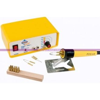 Pyrograveur professionnel avec variateur, 230 V-30W, REF 290P