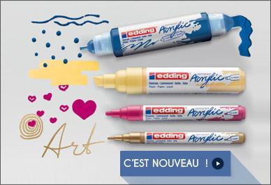 Acrylic markers Edding