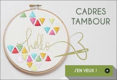 Cadre tambour